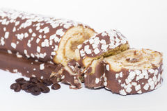 Swiss roll. Royalty Free Stock Photos