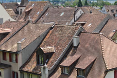 Swiss Rooftops Royalty Free Stock Image