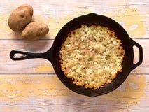 Swiss rosti potatoes Stock Photo