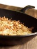 Swiss rosti potatoes Stock Image
