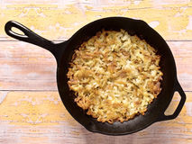 Swiss rosti potatoes Stock Photography