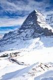 Swiss ski Alpine mountain resort, Grindelwald, Switzerland Royalty Free Stock Photos