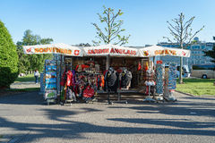 Swiss souvenir shop Stock Photos