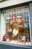 Swiss souvenir shop Royalty Free Stock Photography