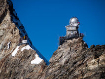 Swiss Sphinx observatory Stock Photography