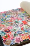 Swiss stamps Stock Photo