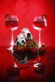 Swiss strawberry daiquiri Royalty Free Stock Photos