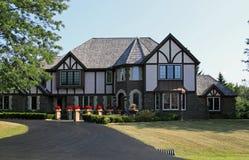 Swiss Style Luxury Estate Royalty Free Stock Photo