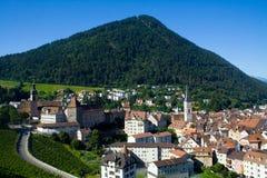 Free Swiss Town Royalty Free Stock Photos - 16973338