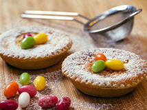 Swiss traditional Easter rice tart Royalty Free Stock Photography
