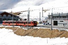 Swiss Train Royalty Free Stock Photography