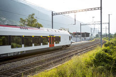 Swiss train Stock Photography