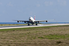 Swiss A340 on training flights Stock Image