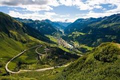Swiss View Stock Image