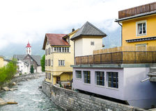 Swiss village Royalty Free Stock Images