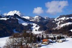 Swiss Village Stock Photography