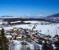 Swiss Village Royalty Free Stock Image