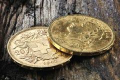 Swiss Vreneli Royalty Free Stock Photo