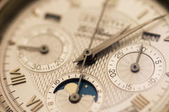 Swiss watch close up Stock Photo