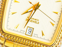 Swiss watch close up Stock Photos