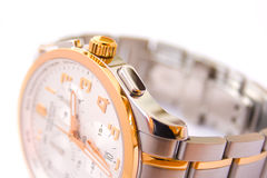 Swiss watch - crown Stock Images