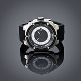 Swiss watches on gray vignette background. Product photography. Royalty Free Stock Photography