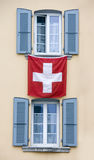 Swiss windows Royalty Free Stock Photos