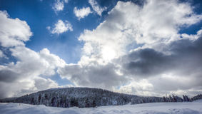 Swiss Winter Landscape IV Royalty Free Stock Images