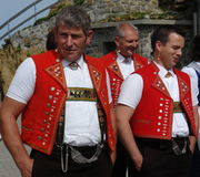 Swiss Yodelers Royalty Free Stock Photos