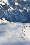 swissAlps di inverno Fotografia Stock