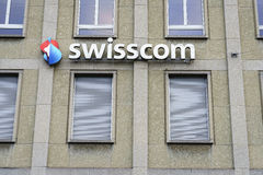 Swisscom Communications in Lucerne, Switzerland. Very high resolution, 42.2 megapixels Royalty Free Stock Photo