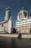 Swissotel Krasnye Holmy Moscow complex Stock Photo