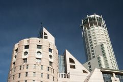 Swissotel Krasnye Holmy Moscow complex Royalty Free Stock Photos