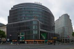 Swissotel on Kurfuerstendamm. BERLIN - JUNE 14, 2015: Swissotel on Kurfuerstendamm. Swissotel Hotels and Resorts is an international hotel chain, currently Royalty Free Stock Photography