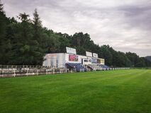 Swit Krzeszowice Stadium, Poland Stock Photo