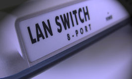 Switch. Small switch Royalty Free Stock Photo