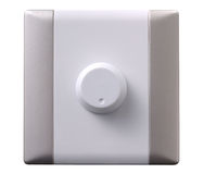 Switch. An adjustable electrical wall switch Stock Images