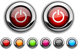 Switch button. Stock Photography