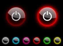 Switch button. Royalty Free Stock Image