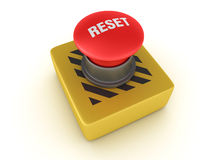 Switch Buttons Series - RESET Stock Photography