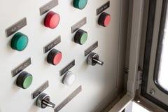 Switch control board bottom Stock Photo