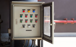 Switch control board bottom Royalty Free Stock Images