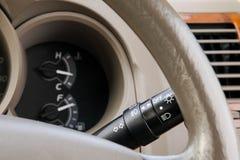 Switch Control car  light Royalty Free Stock Photos