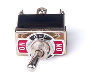 Switch of electrical protection component Royalty Free Stock Photography