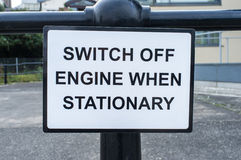 Switch Engine Off Stock Images