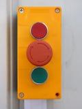 Switch For Factory Door Stock Photos