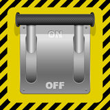 Switch icon Royalty Free Stock Images