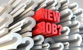 Switch jobs? Stock Photography