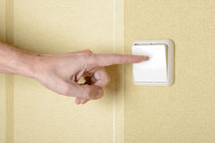 Switch the Light Royalty Free Stock Image