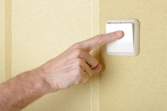 Switch the Light Royalty Free Stock Photo
